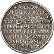 1 Thaler - Ludwig IV. (Ausbeutetaler) – avers