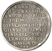 2 Thaler - Ludwig IV. (Doppelter Ausbeutetaler) – avers