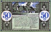 50 Pfennig (Heydekrug) – revers