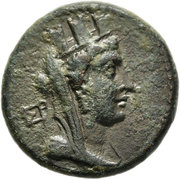 Bronze AE22 (Hieropolis-Kastabala) – avers