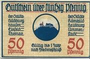 50 Pfennig (Hildburghausen,Eisfeld, Themar) – avers