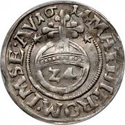 1/24 Thaler Evêché - Ferdinand de Bavière – revers
