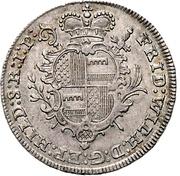 ⅓ Thaler - Friedrich Wilhelm von Westphalen – avers