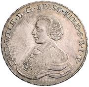 ⅔ Thaler - Friedrich Wilhelm von Westphalen – avers