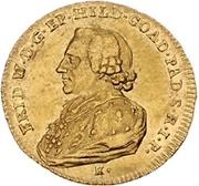 1 Ducat - Friedrich Wilhelm von Westfalen – avers