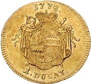 1 Ducat - Friedrich Wilhelm von Westfalen – revers