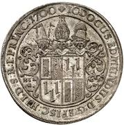 1 Thaler - Jobst Edmund von Brabeck (Ausbeutetaler) – avers