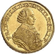 5 Thaler - Friedrich Wilhelm von Westfalen (Pistole) – avers