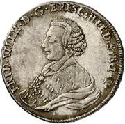 ½ Thaler - Friedrich Wilhelm von Westfalen – avers