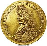 1 ducat Jobst Edmund de Brabeck – avers