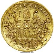 1 ducat Jobst Edmund de Brabeck – revers