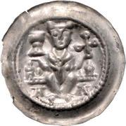 1 Brakteat - Konrad II and Heinrich I. – avers