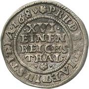 1/16 Thaler - Jobst Edmund von Brabeck – revers