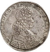 24 Mariengroschen - Jobst Edmund von Brabeck – avers