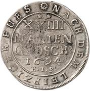 24 Mariengroschen - Jobst Edmund von Brabeck – revers