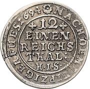 1/12 Thaler - Jobst Edmund von Brabeck – revers