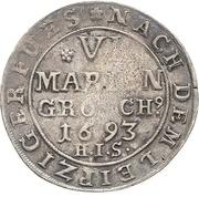 6 Mariengroschen - Jobst Edmund von Brabeck – revers