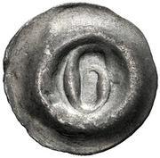 1 Pfennig (Buchstabenpfennig) – avers