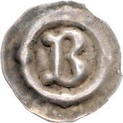 1 Pfennig - Anonymous (Buchstabenpfennig) – avers