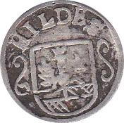 3 pfennig – avers