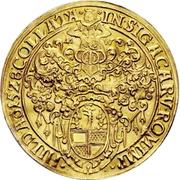 4 Goldgulden (Goldener Schaupfennig) – avers