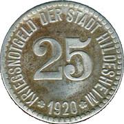 25 pfennig - Hildesheim – avers