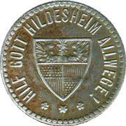 25 pfennig - Hildesheim – revers