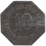 10 Pfennig - Hildesheim – avers