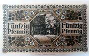 50 Pfennig Hildesheim 1918 – revers