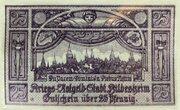 25 Pfennig -  revers