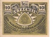 10 Heller (Himberg) -  avers