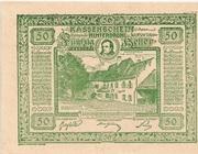 50 Heller (Hinterbrühl) – avers