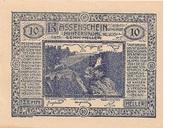 10 Heller (Hinterbrühl) – avers