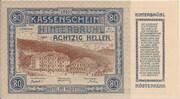 80 Heller (Hinterbrühl) – avers