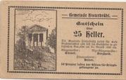 25 Heller (Hinterbrühl) – avers