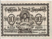 10 Heller (Hinzenbach) -  avers