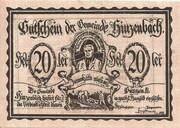20 Heller (Hinzenbach) -  avers