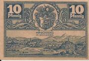 10 Pfennig (Hirschberg) -  revers
