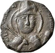 Dirham - Qutb al-Din Sukman II (Artuqids of Hisn Kayfa & Amid) – avers