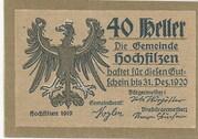 40 Heller (Hochfilzen in Tirol) -  avers