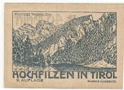 40 Heller (Hochfilzen in Tirol) -  revers
