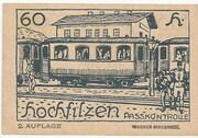 60 Heller (Hochfilzen in Tirol) -  revers
