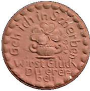 25 pfennig - Höhr – revers