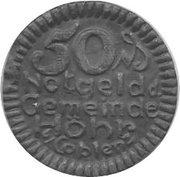50 pfennig - Höhr – avers