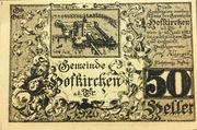 50 Heller (Hofkirchen an der Trattnach) -  revers
