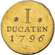 1 ducat Friedrich Ludwig – revers