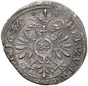 24 Kreuzer - Philipp Ernst zu Langenburg (Kipper) – revers