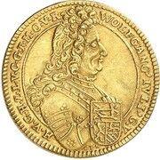 1 ducat Wolfgang Julius -  avers