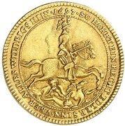 1 ducat Wolfgang Julius -  revers