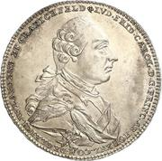 1 conventionsthaler Ludwig Friedrich Karl – avers